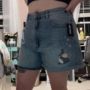 "My Neighbor Totoro ""mom shorts"""